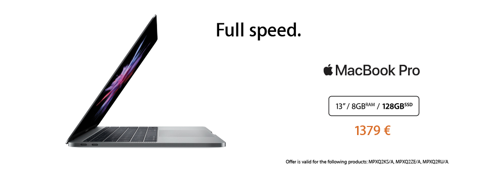MacBook Pro offer