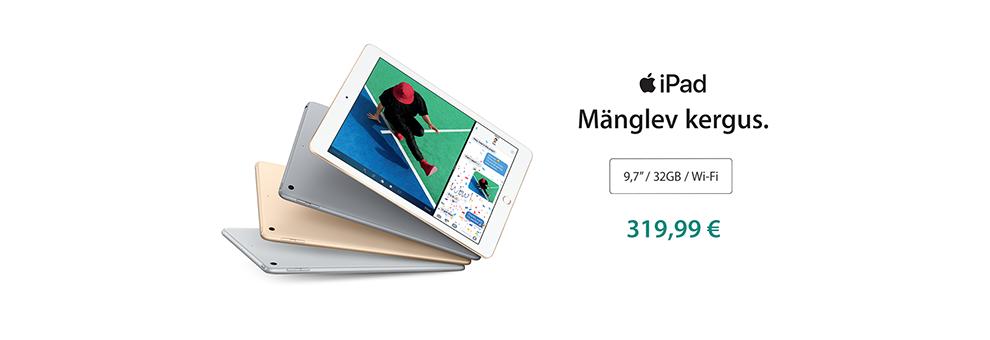 iPad 9.7 eripakkumine