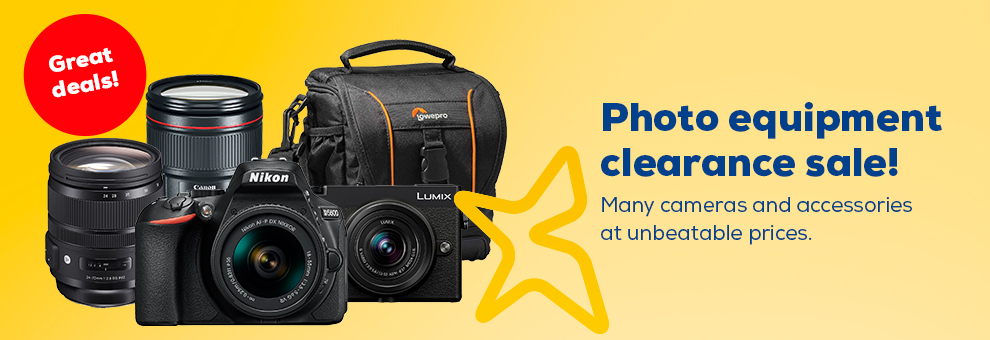 Great photo products clearance sale!