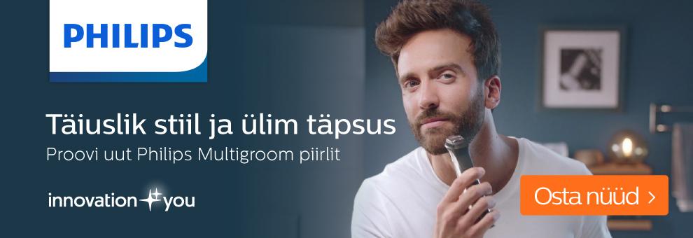 Philips trimmerite komplektid