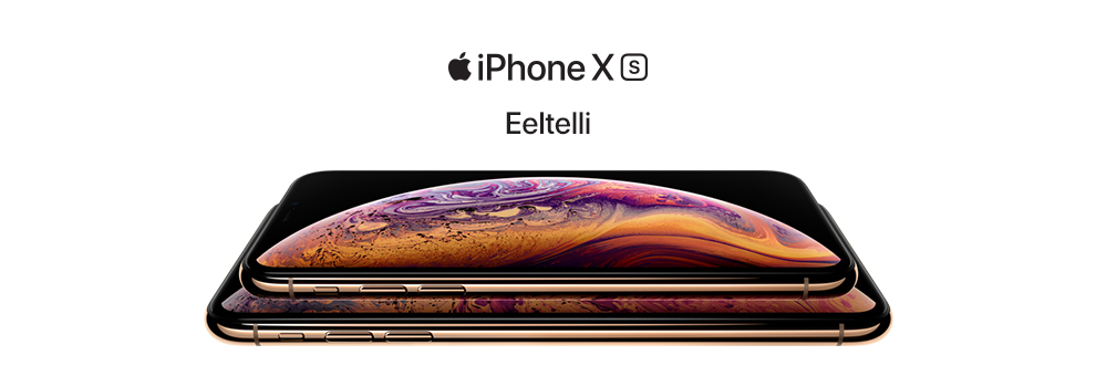 Eeltelli iPhone XS
