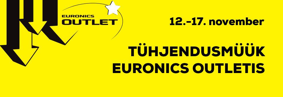 Suur tühjendusmüük Euronics Outletis