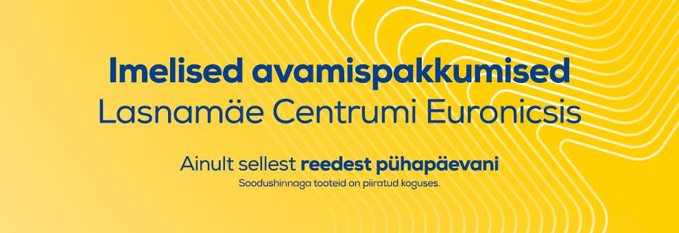 Avame uuenenud Lasnamäe Euronicsi!