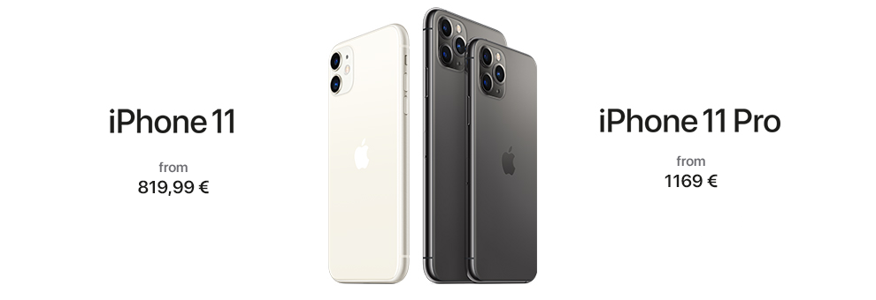 iPhone 11 Now available