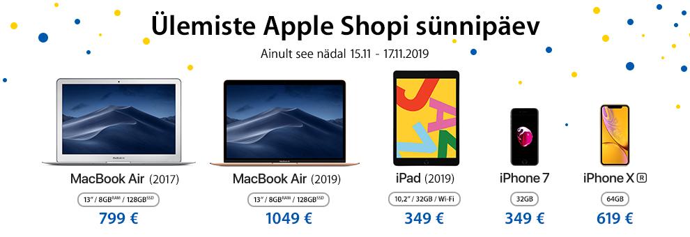 Ylemiste Apple Shopi sünnipäev