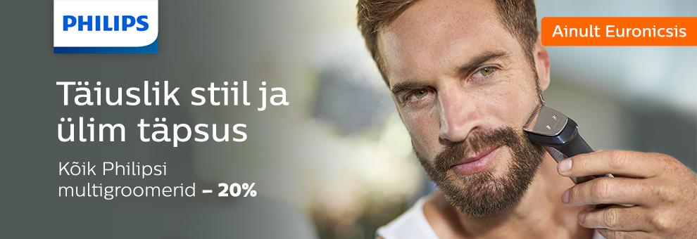 Philips trimmerite komplektid -20%