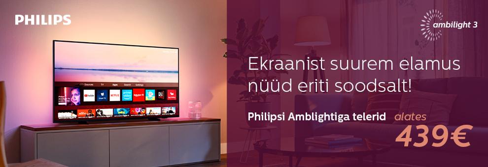 Philips Ambilight telerite sooduspakkumine