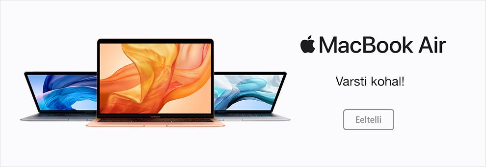 Eeltelli uus MacBook Air