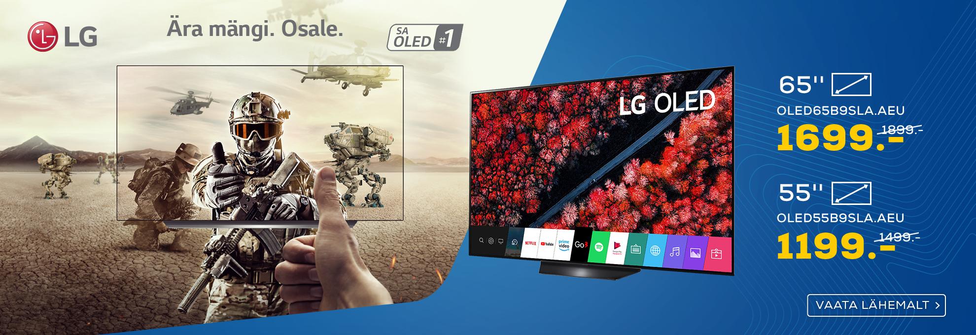 LG OLED telerid juunis