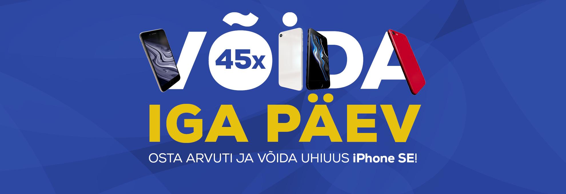 Osta arvuti ja võida uhiuus iPhone SE