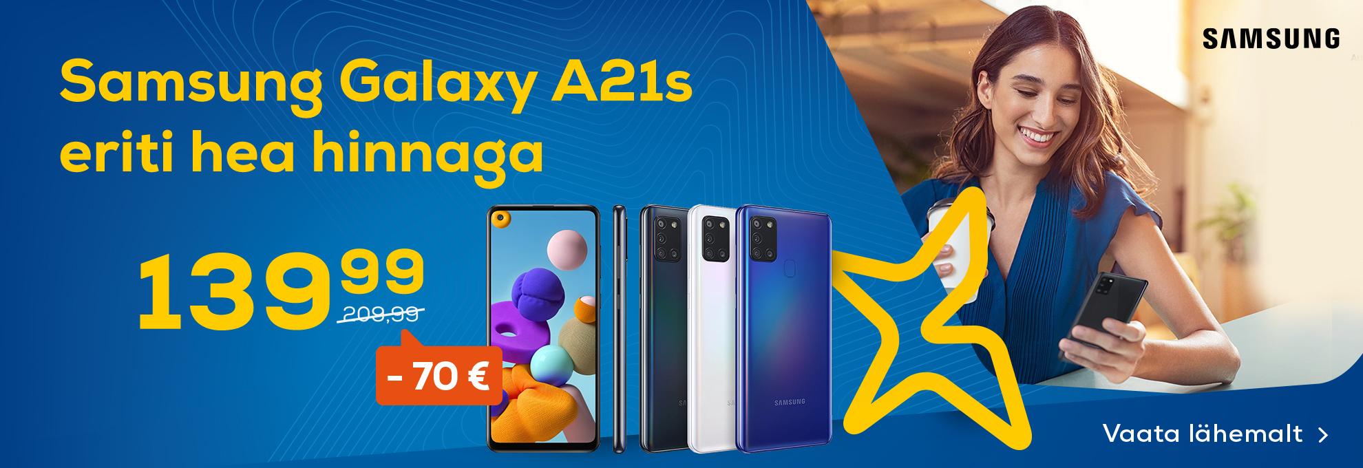 Samsung nutitelefon Galaxy A21s