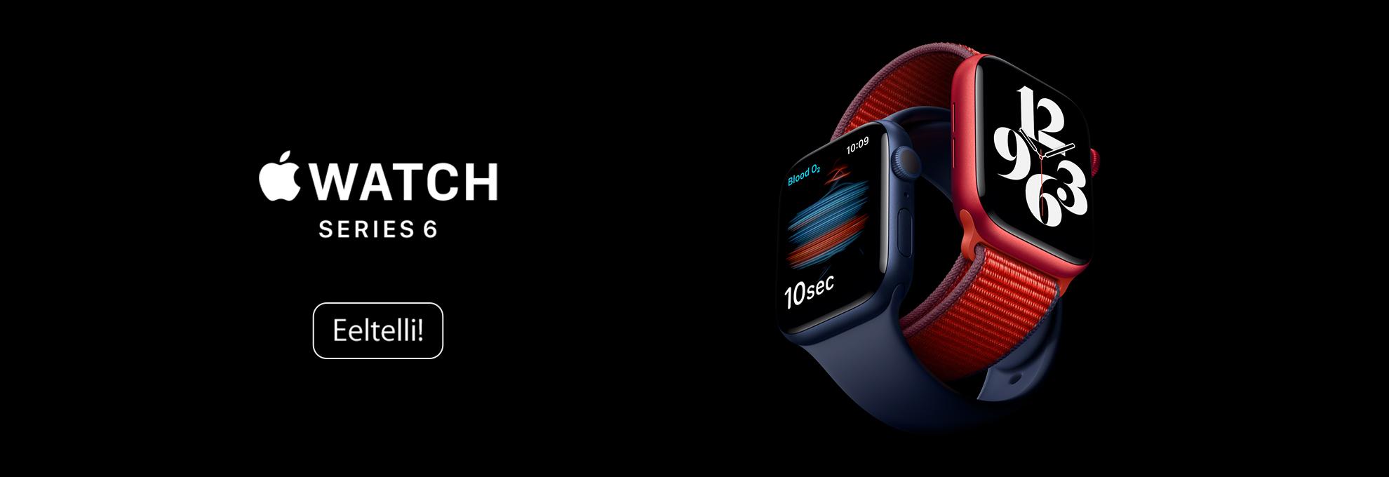 Eeltelli Apple Watch Series 6 & Apple Watch SE