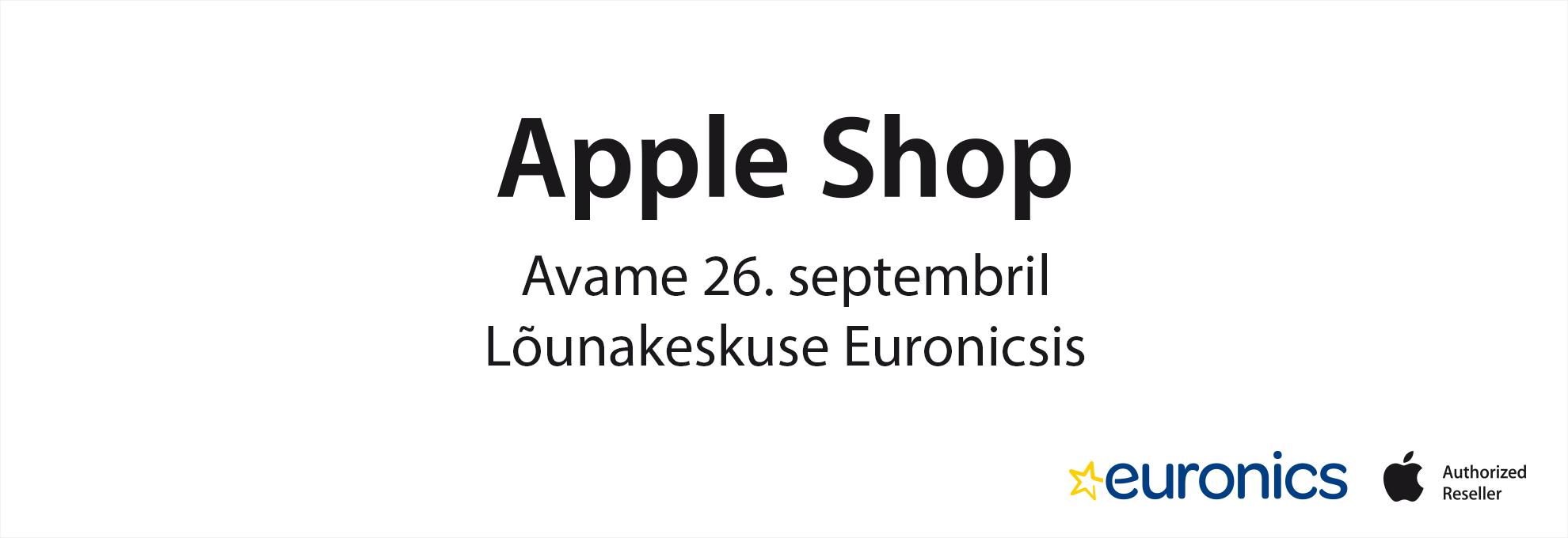 Apple Shop Lõunakeskuse Euronicsis