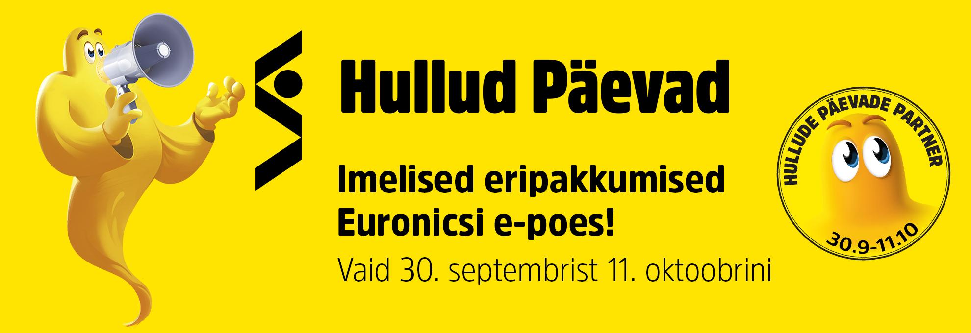 Stockmanni Hullud Päevad Euronicsi e-poes