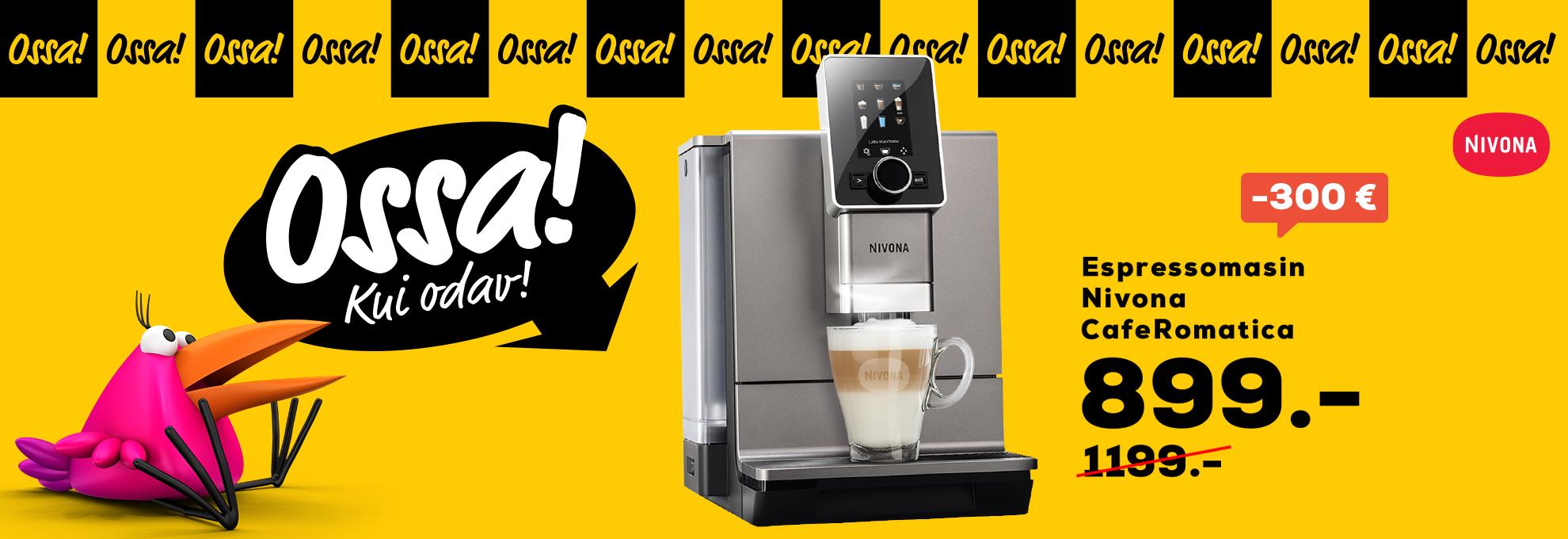 Ossa! Nivona Cafe Romantica 930