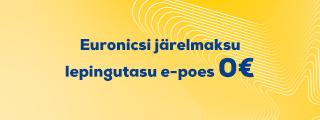 LSU Veebruaris  e-poes järelmaksu lepingutasu 0€