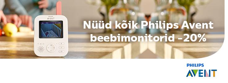 MP Philips AVENT beebimonitorid kuni 20% soodsamad!