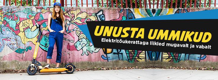 MP Unusta ummikud - elektitõikerattaga liikled muretult ja vabalt!