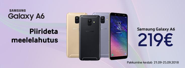 MP Samsung Galaxy A6 vaid 219€!