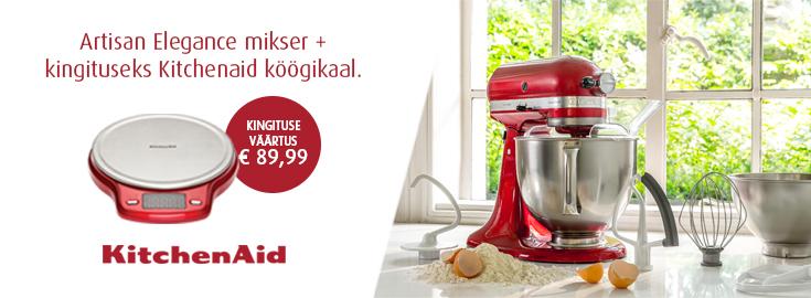 KitchenAid Artisan mikseritega kingituseks kaasa KitchenAid köögikaal