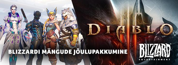 PL Blizzardi mängude jõulupakkumine
