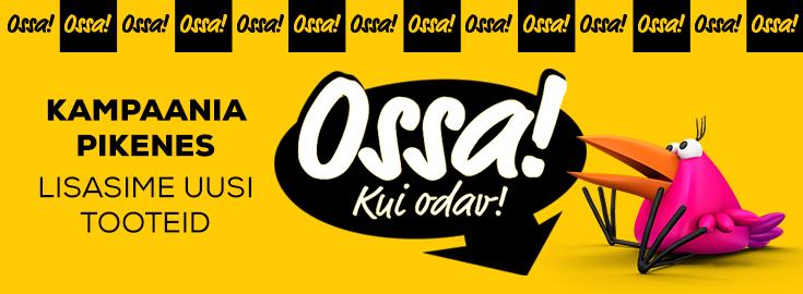 MP Ossa kui odavad hinnad jaanuari lõpuni!