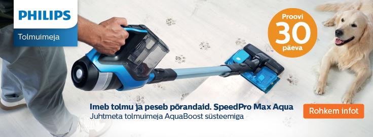 MP Proovi Philips SpeedPro seeria tolmuimejat 30 päeva!