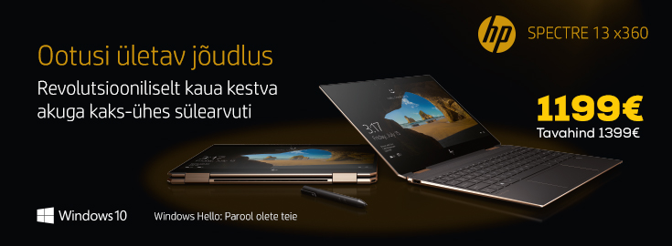 MP HP Spectre X360