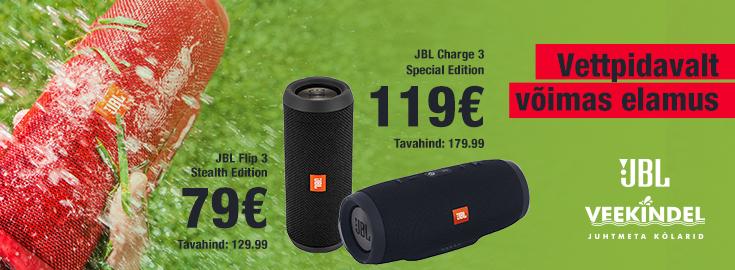 MP JBL Flip 3 & Charge 3