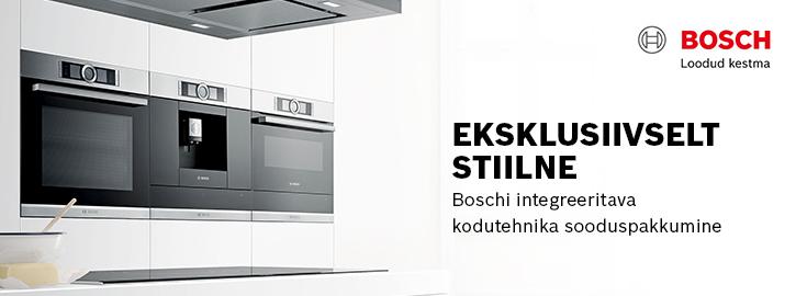PL Eksklusiivselt stiilne Bosch kodumasinate sari
