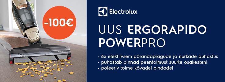 MP Electrolux Ergorapido EER85SSM