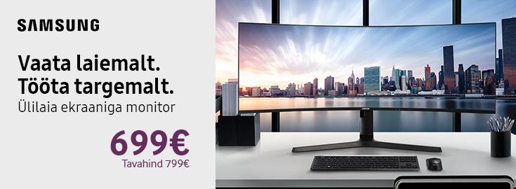 Samsung Ultrawide monitor