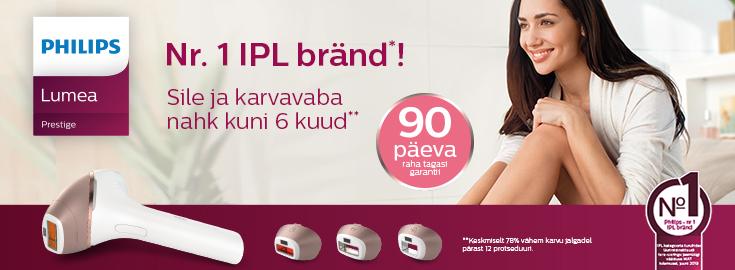 PL Philips Lumea fotoepilaatorid