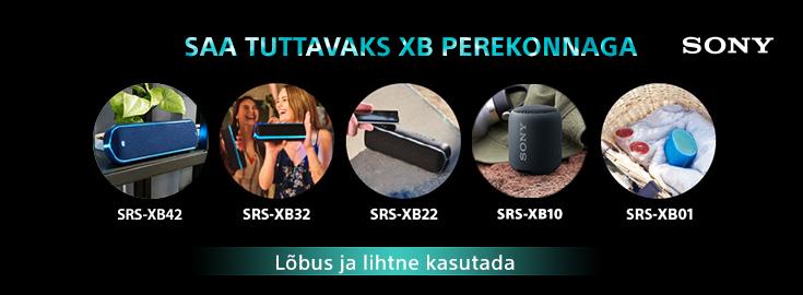 MP Sony XB  seeria kõlarid