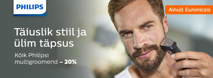 MP Philips trimmerite komplektid -20%