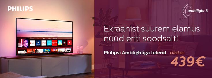 MP Philips Ambilight telerite sooduspakkumine