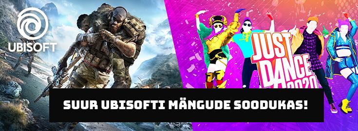 PL Ubisofti mängude soodukas