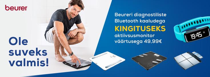 PL Beureri Bluetooth diagnostiliste kaaludega kingituseks aktiivsusmonitor