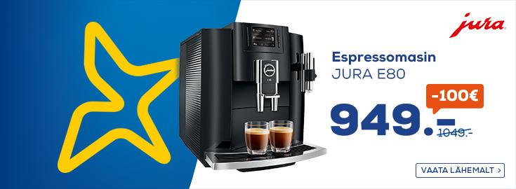 Espressomasin Jura E80