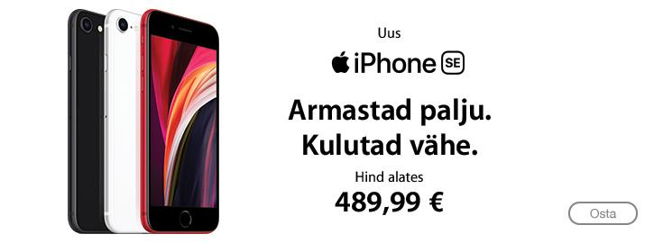 PL Uus Apple iPhone SE nüüd müügil