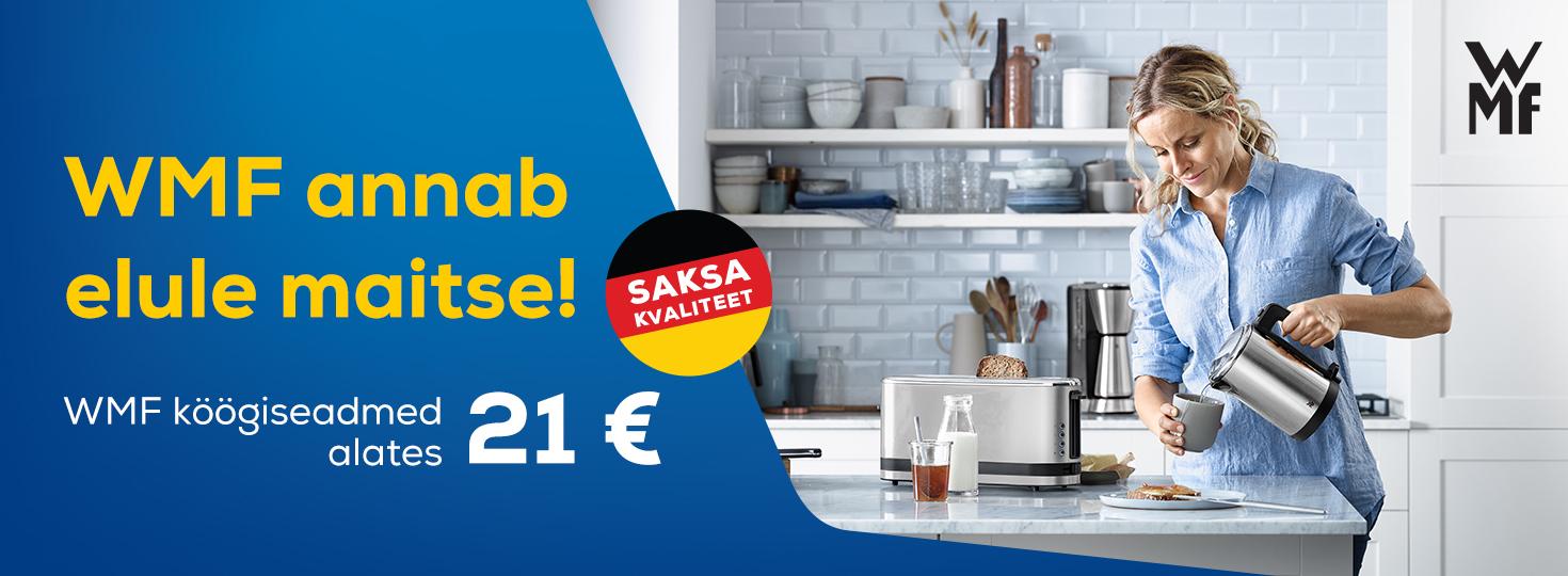 PL WMF köögiseadmed alates 21€