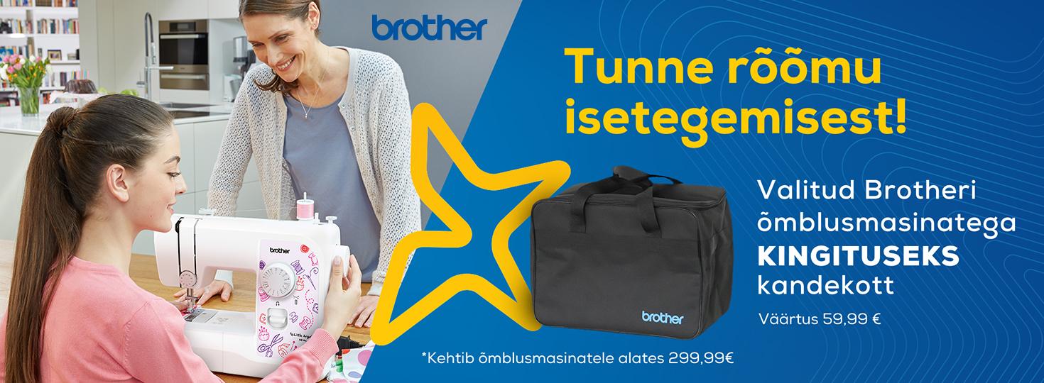 PL Valitud Brotheri õmblusmasinatega kingituseks kandekott