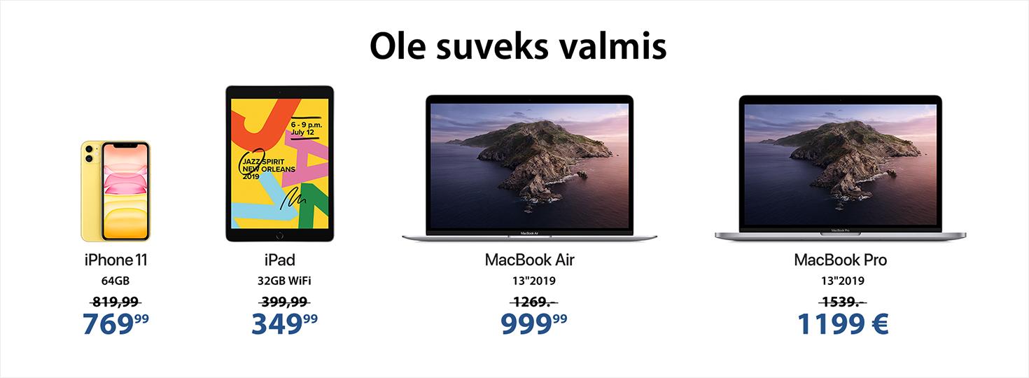 PL Apple koolilõpu kingitused