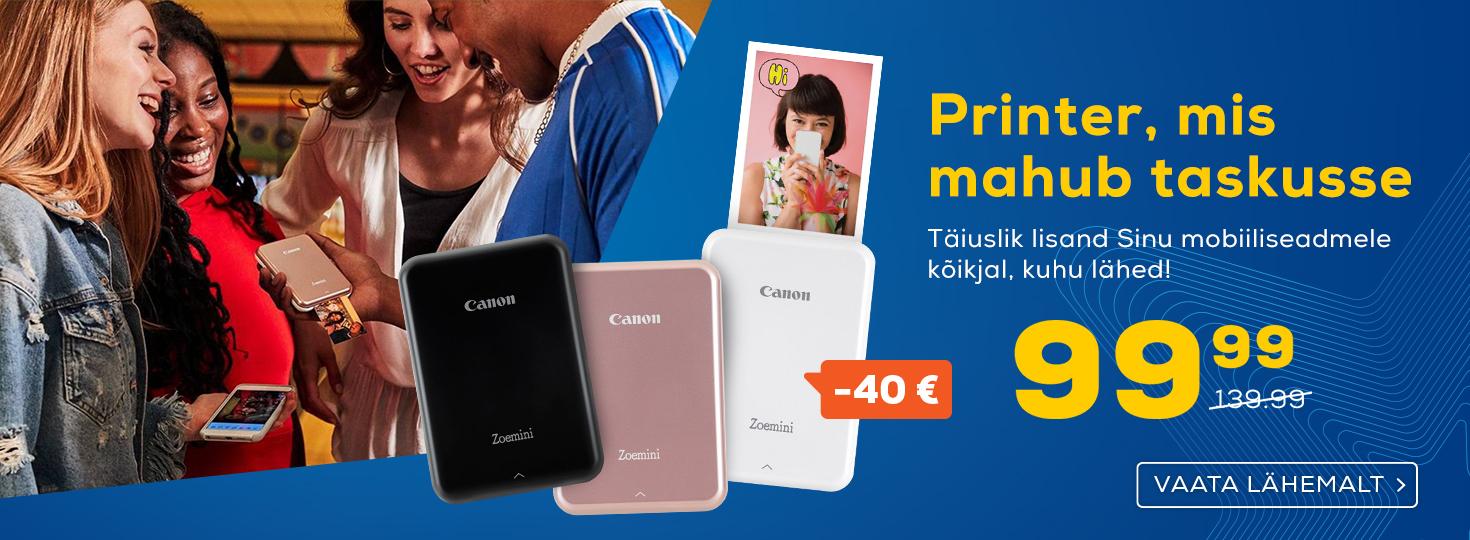 PL Canon nutitelefoni fotoprinter Canon Zoemini