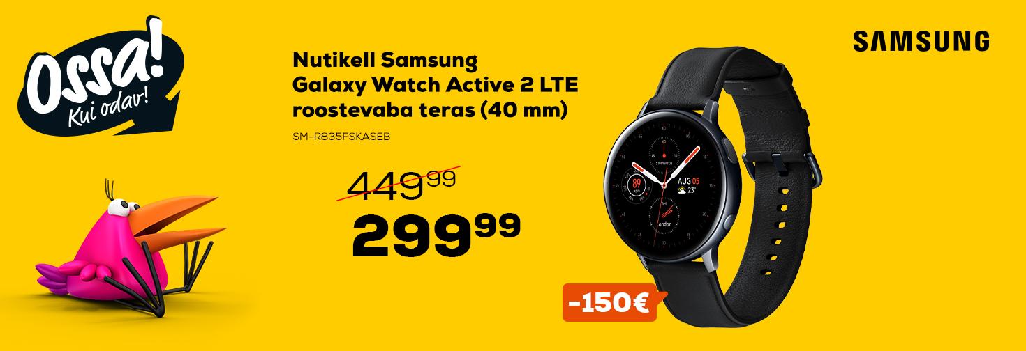 PL Ossa! suvi 2020 Galaxy Watch Active 2