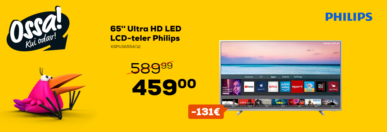 MP Ossa! suvi 2020 Philips TV