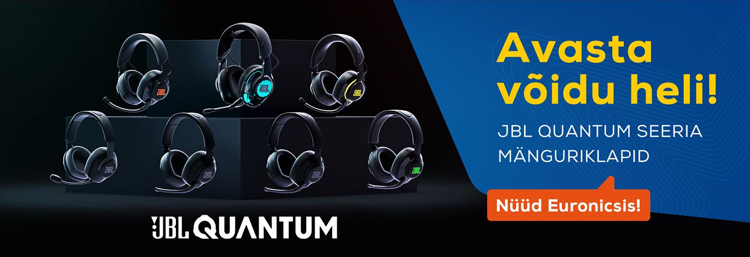 PL JBL Quantum seeria kõrvaklapid nüüd müügil