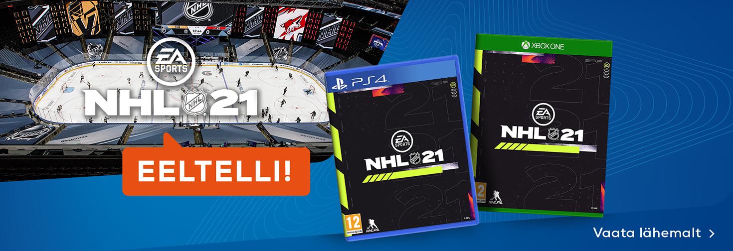 PL NHL 21 - eeltelli nüüd!