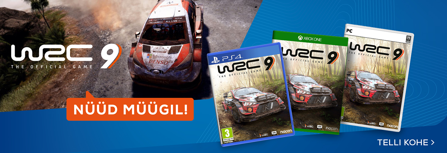 PL WRC 9 - nüüd müügil!