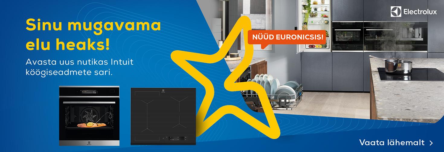 PL Electrolux Intuit - Uus nutikas koogiseadmete sari